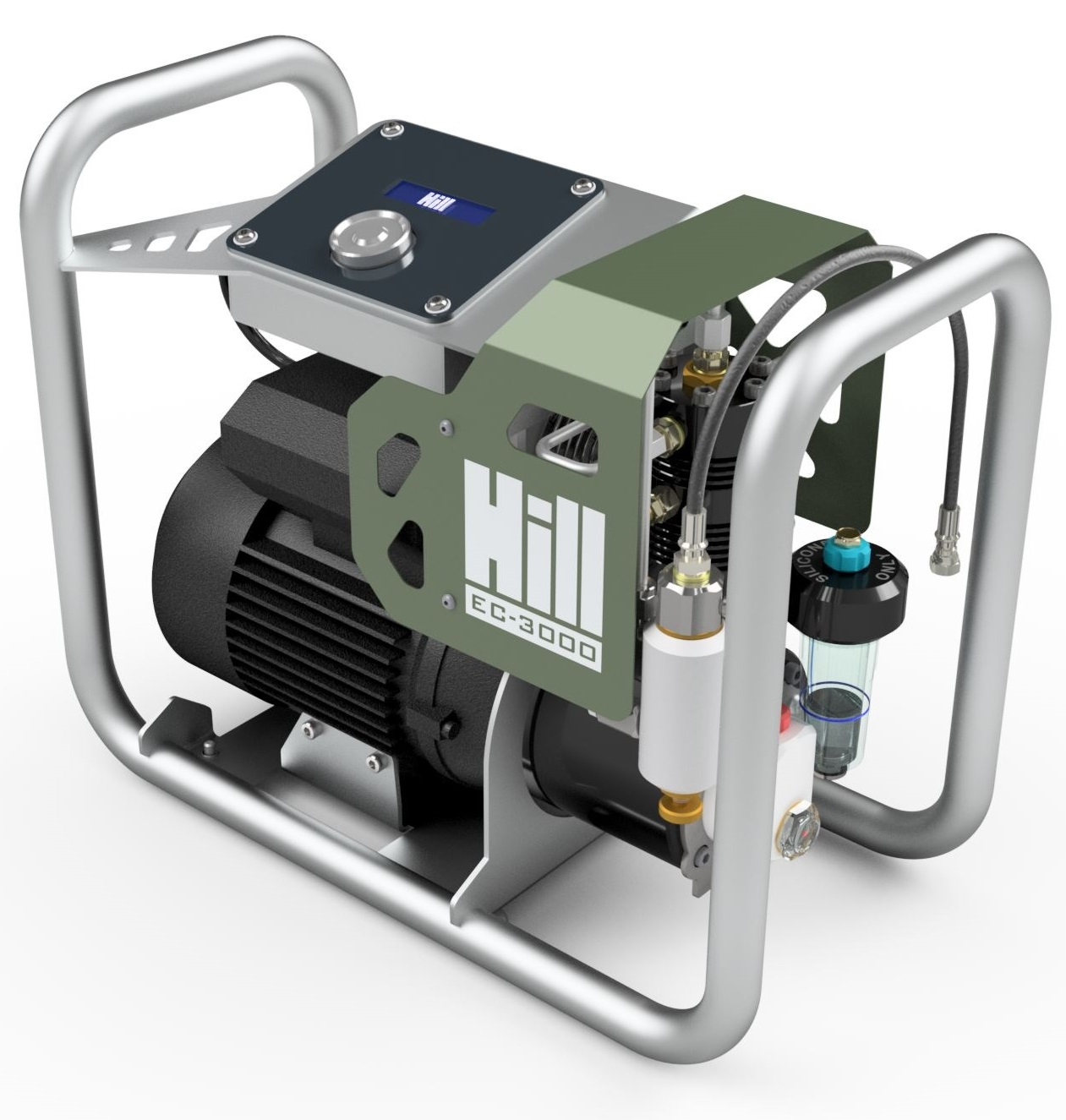 EC-3000 - The Hill Electric Air Compressor Pump